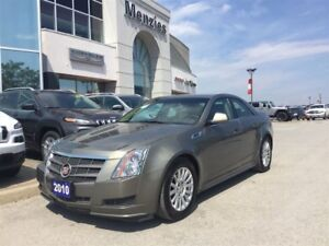 2010 Cadillac CTS 3.0L, Pano Roof, Leather, Clean Carproof