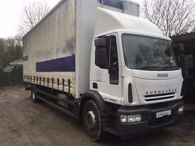 IVECO EUROCARGO 180E25 CURTINSIDER 2007REG, LEZ COMPLIANT, NO VAT, FOR SALE
