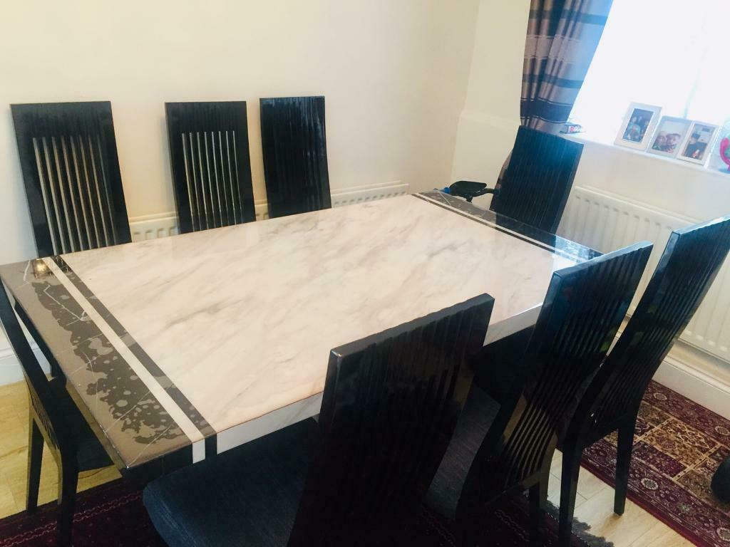 Marble Italian Dining Table Set In East London Gumtree