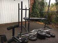 Weight Bench/Multi Gym - Everything Included