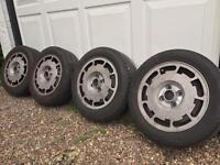 Pirelli P Slot Alloys VW Golf GTI MK2 4 x 100 with Tyres