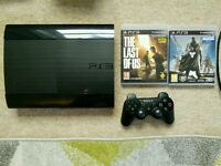 Sony PS3 500gb slim console with games