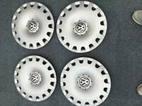 VW wheel trims set of 4