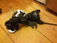 Shimano rear derailleur gear system for bike with shifter and cable