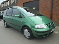 VOLKSWAGEN SHARAN DIESEL AUTOMATIC DISABLED WHEELCHAIR ACCESS Part exchange available / All cards