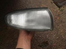 Nissan 200sx s14 Silvia sr20det front sidelights headlights drift breaking.