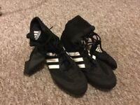 Adidas box hog boxing boots size 11