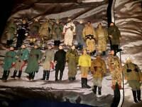 Mix of 12inch war figures