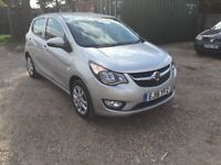 2016 VAUXHALL VIVA SILVER AIR CON CRUISE CONTROL HEATED SEATS CITY MODE ONE OWNER