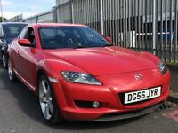 MAZDA RX8 2007 + SERVICE HISTORY + 12 MONTHS MOT + 44,000 MILES