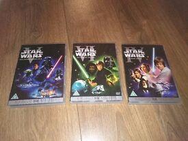 Star Wars DVDs - Excellent Condition