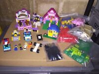 Lego friends bundle with pink box