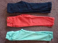 £6 for 3 x jeans/trousers 3-4yrs
