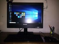 """Lenovo ThinkCentre M93z 23"""" All-in-One AIO Desktop PC i5 4570s 2.9GHz 8GB RAM 1TB HDD Laptop"""