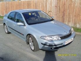Renualt Laguna Dynamique 1.8l Atomatic. MOT May 18. One lady owner since 2004. Good condition.
