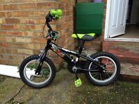 Boys Ben 10 14inch bike