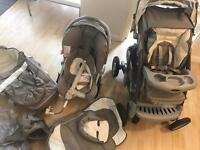 Graco site (pushchair,carset,carrycot)