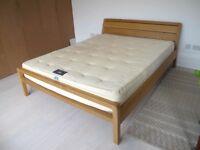 HABITAT Radius Oak Double Bed Frame 160 x 200cm, size is no longer available!!!