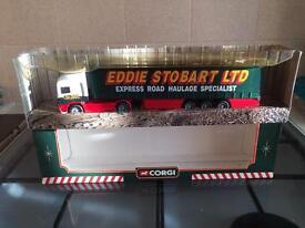 Eddie Stobart corgi ERF Curtainside Trailer 59502