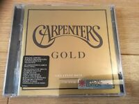 Carpenters Gold greatest hits CDs