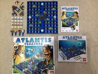 2 Lego Board Games - Minotaurus and Atlantis - 100% Complete / Hardly used / Perfect condition