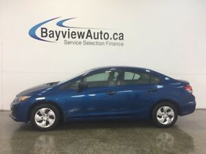 2014 Honda CIVIC DX- 5 SPD! 1.8L! ECO MODE! GAS BUDDY!