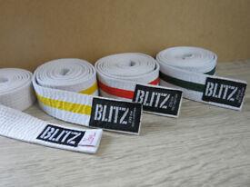 Kids Blitz Judo Belts