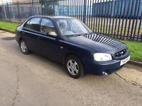 Hyundai Accent 1.3 Long MOT 2001 Low Mileage
