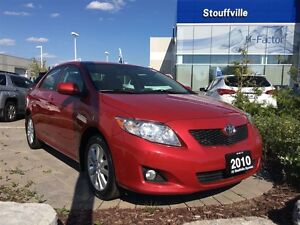 2010 Toyota Corolla LE One owner no accidents