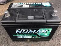 Numax Caravan Leisure Battery LV22MF 75ah