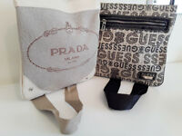 Fashion cross-body bags - Prada & Guess - Christmas gift