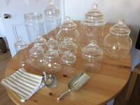 Sweetie Jars with 2 scoops brilliant for wedding or party