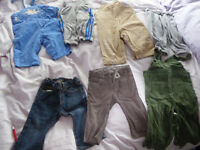 Huge boy clothes BUNDLE. Over 60 items. Includes Gap, TEX trousers, t shirts ..