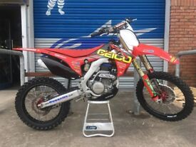 2017 CRF 250 (30 hours from new) CRF250