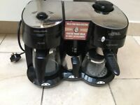 Used Morphie Richards Coffee Machine for sale - good condition