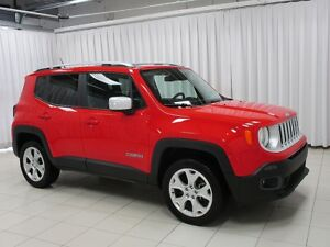 2017 Jeep Renegade LIMITED 4X4 w/ My Sky SUN ROOF, NAVIGATION, H