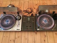 Gemini Turntables & Technics Mixer