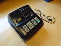 Sharp XE-A102 Electronic Cash Register/Till with Ink and Rolls