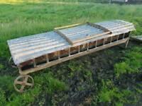 8ft lamb creep feeder farm livestock tractor