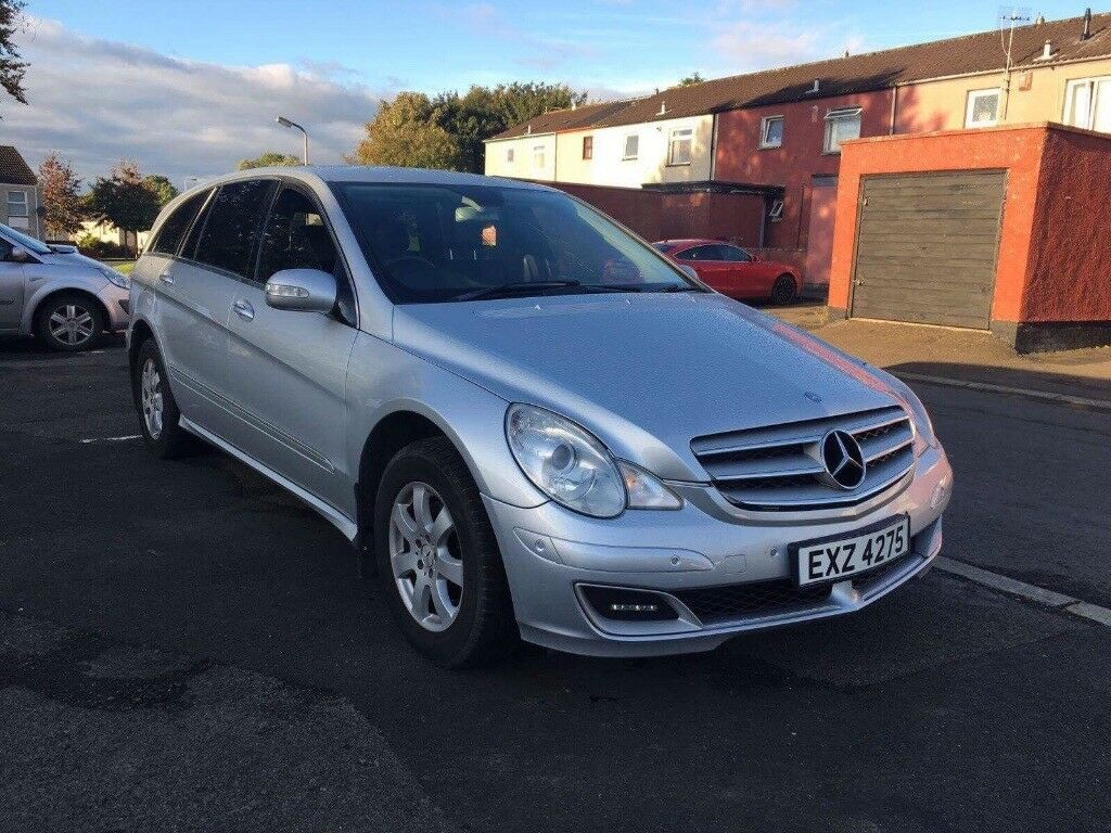 Mercedes R. Class 2006 full year mot