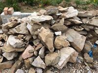 Building and rockery stone