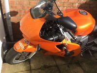 R6 600cc track kit