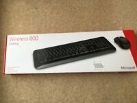 MICROSOFT WIRELESS KEYBOARD 800 WITH MOUSE