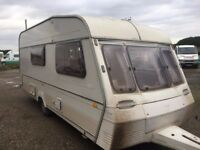 abbey 4 berth 1992 year clean caravan for age