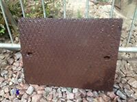 Cast Iron Manhole Lid Only 630 x 482