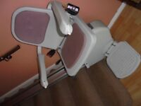 Acorn stair lift; right hand side fixing.