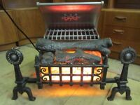 Belling Celtic log effect electric fire from the 1960's.