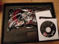 Msi R9 390x graphics card New
