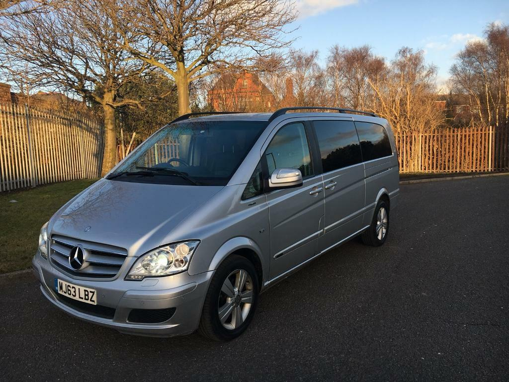 mercedes benz viano   cdi auto ambiente  seater extra long mpv cheapest  uk