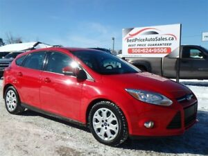 2012 Ford Focus CERTIFIED! AUTO! HATCH! CERTIFIED!